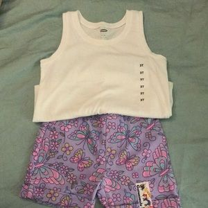 Tank and short set NWT